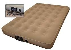 FULL SIZE RV TRAILER CAMPER INFLATABLE SOFA AIR BED MATTRESS W REMOTE CONTROL