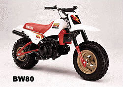 Yamaha BIG Wheel BW80
