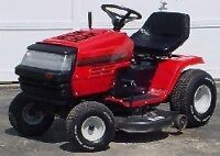 Wanted- lawn and garden tractors / zero turns