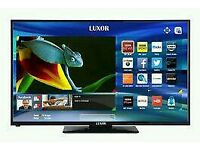 "Luxor 40"" LED smart WIFI tv built in DVD combi HD freeview USB media player ."