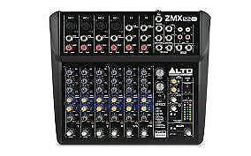 Alto ZMX122 ( 8 channel mixer with FX)