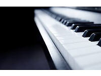 Amateur keyboard player available