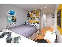 Student Castle York Double bed En suite Shared Kitchen