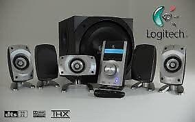 Logitech Z5500 speakers