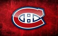 REDS & VIP DESJARDINS SEATS for ALL 2015-16 MTL CANADIENS GAMES