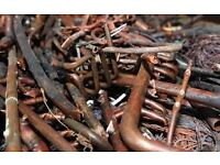Scrap copper or copper electric wire wanted cash paid