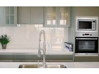 Baumatic BMM204SS 20L Built-in Microwave Oven, urban chic stainless steel design