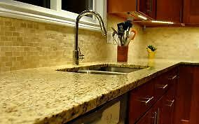 granite and quartz blowout sale  FREE SINK.