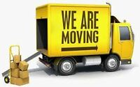 Moving or delivery services 24h at 514-616-5006