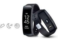 Samsung Gear Fit smart watch.