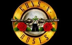 4 X GUNS AND ROSES TICKETS £96.50 EACH - LONDON STADIUM SAT 17TH JUNE - STANDING