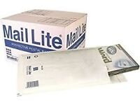 Mail Lite C/0 Padded Envelopes - Brand new box of 50