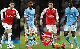 Arsenal - Manchester City Sunday 25th Feb 2.05pm KO