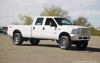 FORD F 250 CREW CAB 2006 + F 150 2010 USE PARTS, PIECES USAGES