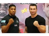 Anthony Joshua vs Wladimir Klitschko Tickets Club 238