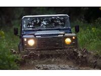 Looking for a land rover defender