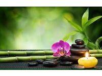 Aromatherapy massage and reflexology and reiki treatments