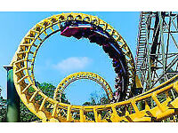 Alton Towers Tickets - SCHOOL HOLIDAYS - 1st August - £17 Each