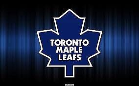 Flames vs Leafs Centre Ice Row 4, 2 or 4 Tickets