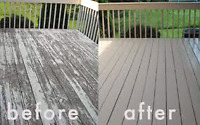 Deck and fence refinishing