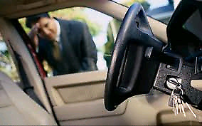 Car locked.  We do fast and reliable lockout services