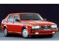 Alfa 75 restoration/project wanted