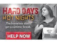 Door-to-door charity fundraising with Shelter - immediate start - £9-£12/hr