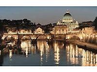 Return Flight to Rome this weekend! 29/9