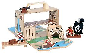 Wooden Pirate Mobile Set