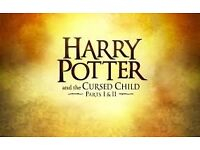 1 Ticket for Harry potter and the cursed child. 2 parts 8th & 9th June @ 7.30pm - Dress Circle £250
