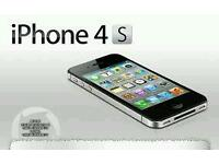 Iphone 4s 16gb Unlocked black and white Good condition