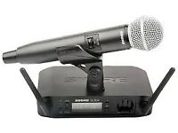 Shure GLXD24/SM58 Wireless Microphone System