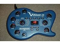Behringer V-Amp 2 with gig bag **no psu or pedal""