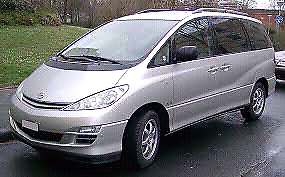 Hire a  car 7 Seater people mover