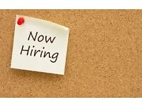 SALES AND MARKETING STAFF WANTED