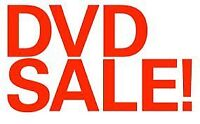 DVD'S FOR SALE $4.00