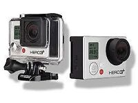 GoPro Hero 3+ Camera Silver with 16GB Micro SD Card and Extension Stick