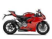 UNREGISTERED 2021 PANIGALE V2 IN GLOSS RED