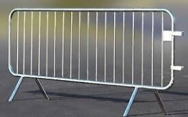 Crowd Control Barrier (2.3M) Fixed Leg x50 panels