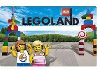 5 Legoland tickets at £100