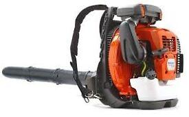 Husqvarna 570 bts back pack leaf blower
