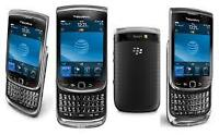 Unlocked great condition Blackberry Torch touch screen