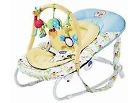 Chicco Relax & Play Baby Bouncing Chair - Baby Sketching