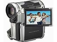Canon HD Compact Camcorder with battery and Charger