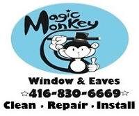 EAVES-TROUGH & WINDOW CLEANER WITH VEHICLE WANTED (G.T.A.)