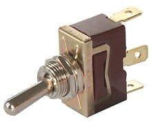 interrupteur bascule 12 volts 16 amp res 3 bornes ebay. Black Bedroom Furniture Sets. Home Design Ideas