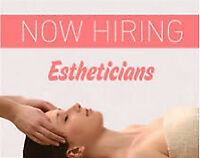 Hiring Esthetician and Nail Technician