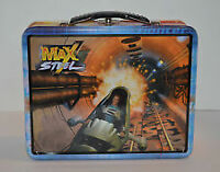 Max Steel 3D Fighter Pilot Metal Lunchbox , Tin Box Co