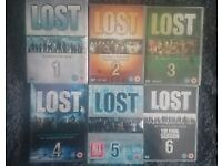 Complete series of Lost 1-6.