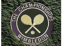 Wimbledon Centre Court Men's Quarter Finals pair of tickets Weds 12th July